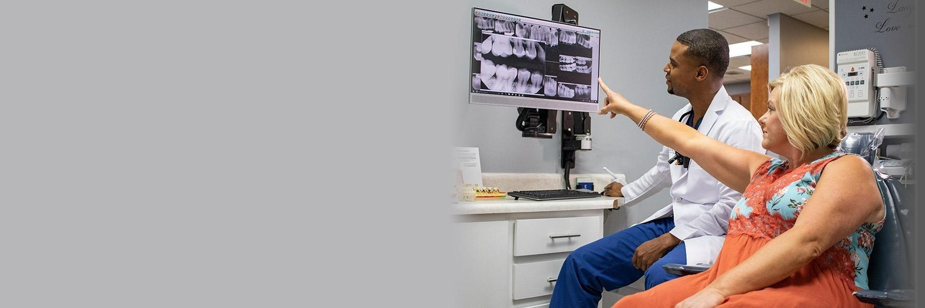 Dr. King & Patient | Fix Broken Teeth Huntsville AL